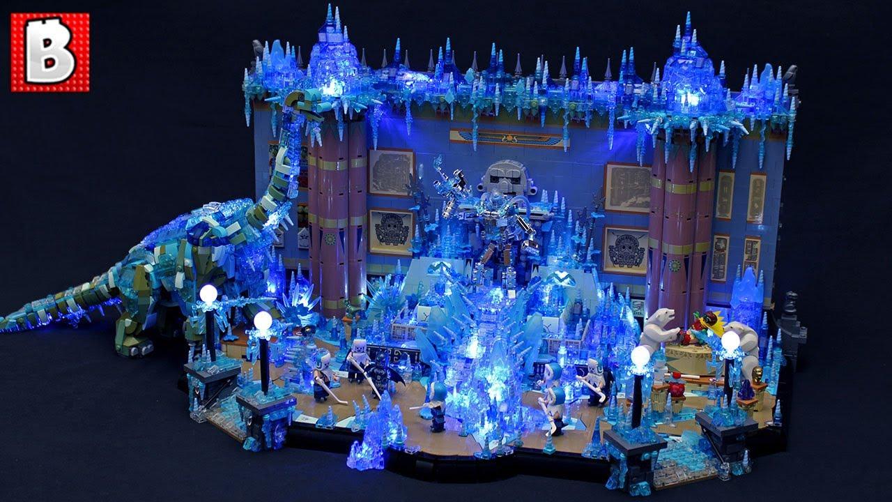 LEGO Mr. Freeze & Batman Museum Battle | TOP 10 MOCs