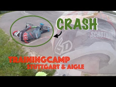 TRAININGCAMP STUTTGART & AIGLE || #CRASH