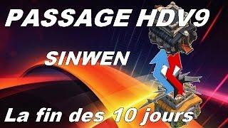 101 Histoires - PASSAGE HDV9 pour HDV 8.5 - SINWEN ! CLASH OF CLANS FRANCE