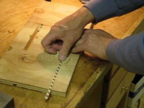 How to Inlay a Wood Inlay Banding - YouTube