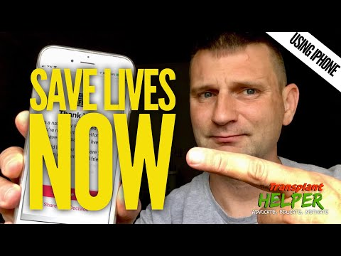 Save Lives Now With Your iPhone