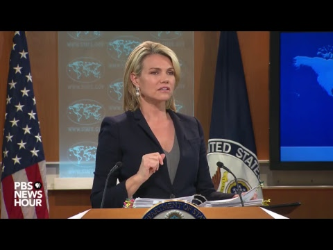 New State Dept. spokesperson holds first press briefing