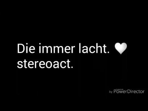 Stereoact feat Kerstin ott - Die immer lacht lyrics