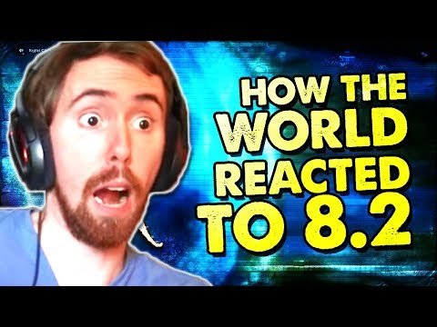 Asmongold: One Week Into 8.2 - GOOD CONTENT? - Reaction To Taliesin & Evitel