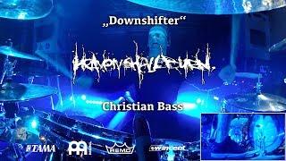Christian Bass - Heaven Shall Burn | Downshifter live @ Zenith München 16/03/18 | Drumcam