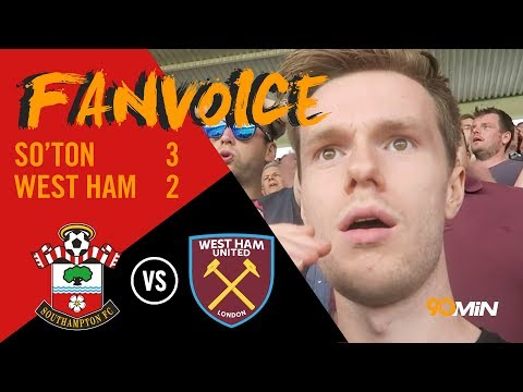Austin late penalty gives Saints 3-2 win over Hammers | Southampton 3-2 West Ham | 90min FanVoice