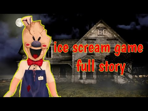 Ice scream game full story/Hindi/technical YouTuber