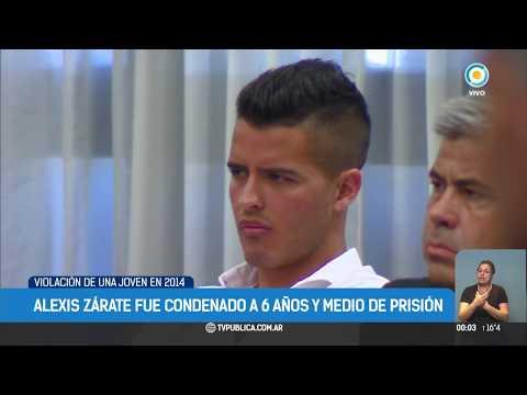 Alexis Zárate condenado por abuso sexual