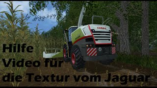 Hilfe Video für die Texturen vom Claas Jaguar 870 von MB 3D Modelling   Hier geht´s zum Claas Jaguar 870 von MB 3D Modelling: https://www.modhoster.de/mods/claas-jaguar-870--14   Hier geht´s zu meiner Textur für den Claas Jaguar 870: https://www.modhoster
