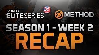 Method - Gfinity Elite Series: Season 1 - Week 2 - Recap - SFV, CS:GO & Rocket League