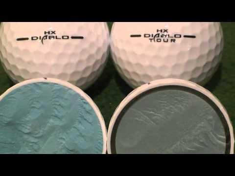 GolfBallTest.org Review - 2011 Callaway HX Diablo and HX Diablo Tour