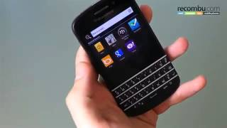 BlackBerry Q10 review First look