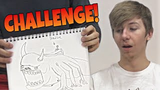 WE TRIED DRAWING APPA!   Drawing Challenge