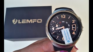 lEMFO LES1 2017 Best Android Quadcore Smart Watch - Review - Good Battery