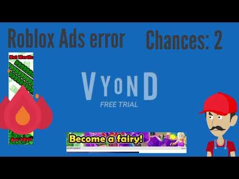 Roblox ads error GA 13