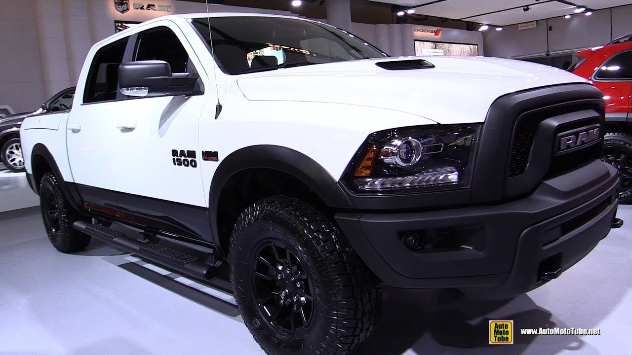2018 ram 1500 rebel exterior and interior walkaround. Black Bedroom Furniture Sets. Home Design Ideas