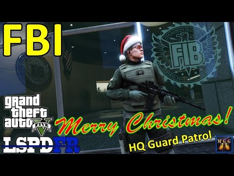 Christmas Day Special Los Santos FBI Field Office Security Patrol GTA 5 LSPDFR Episode 207