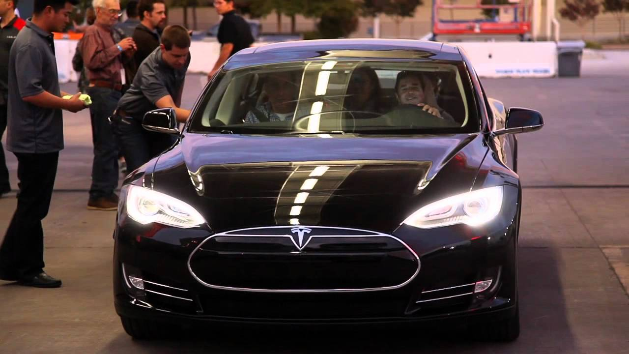 My First Ride in Model S