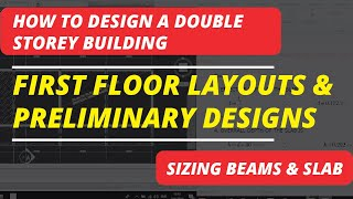 HOW TO DESIGN A Double Story Building: Part 1C (First Floor Layout)