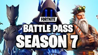 "OFFICIAL ""FORTNITE SEASON 7 BATTLE PASS SKINS"" LEAKED! (FORTNITE SEASON 7 BATTLE PASS TIER 100 SKIN)"