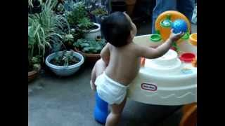 playing with the water table