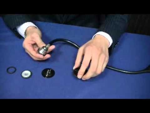 Welch Allyn Stethoscopes Elite / How to change to the Corrugated Diaphragm