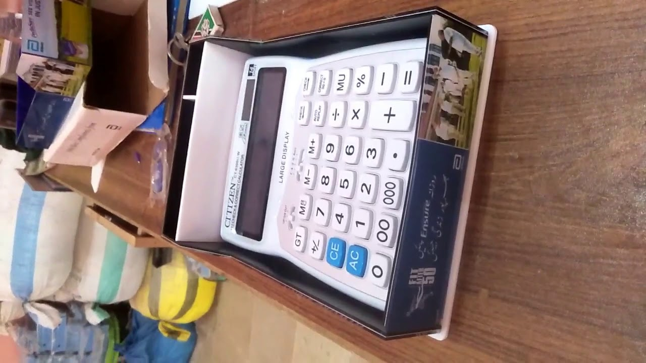 Calculator Acrylic Holder   By InspieNeo Productions