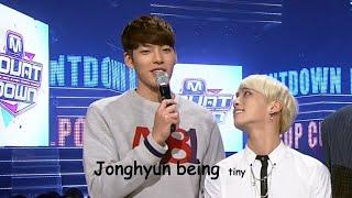 jonghyun being tiny
