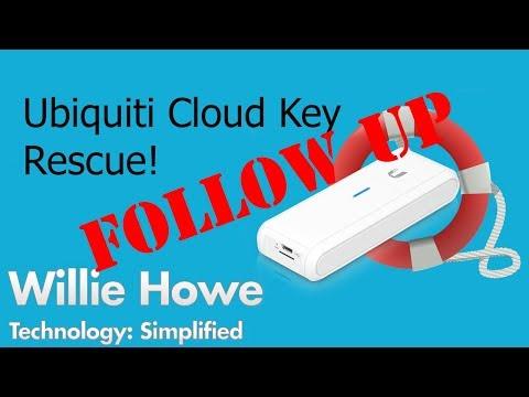 Ubiquiti Cloud Key Rescue Follow-Up! - YouTube