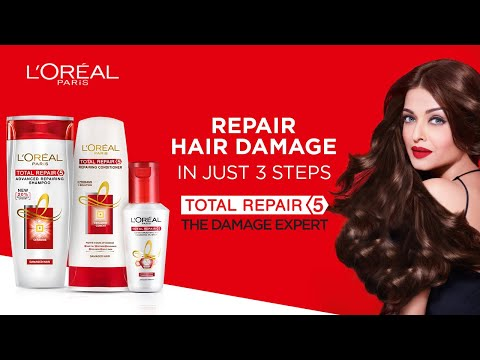 L'Oreal Paris Total Repair 5 | Win Over Damaged Hair | Aishwarya Rai & Sobhita Dhulipala - Hindi