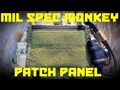 Mil Spec Monkey Patch Panel