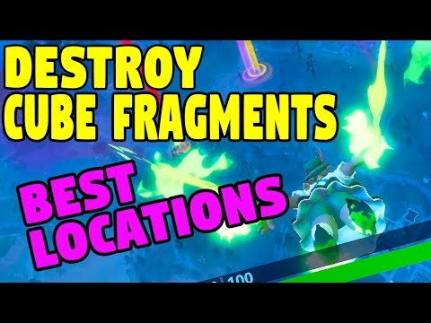 Destroy Cube Fragments, Fortnitemare Part 4 Challenges