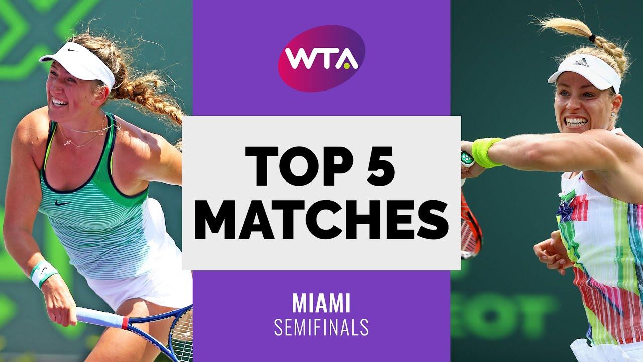 Miami | Top 5 Semifinal Matches