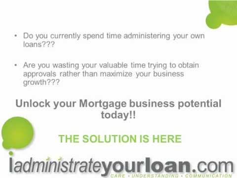 Loan Processing/Administration Outsourced Services -  iadministrateyourloan.com
