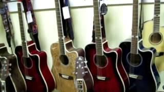 Гитары. Купить гитару / Видео обзор гитар Aosen Exclusive Series / 100% массив    musik-store.ru