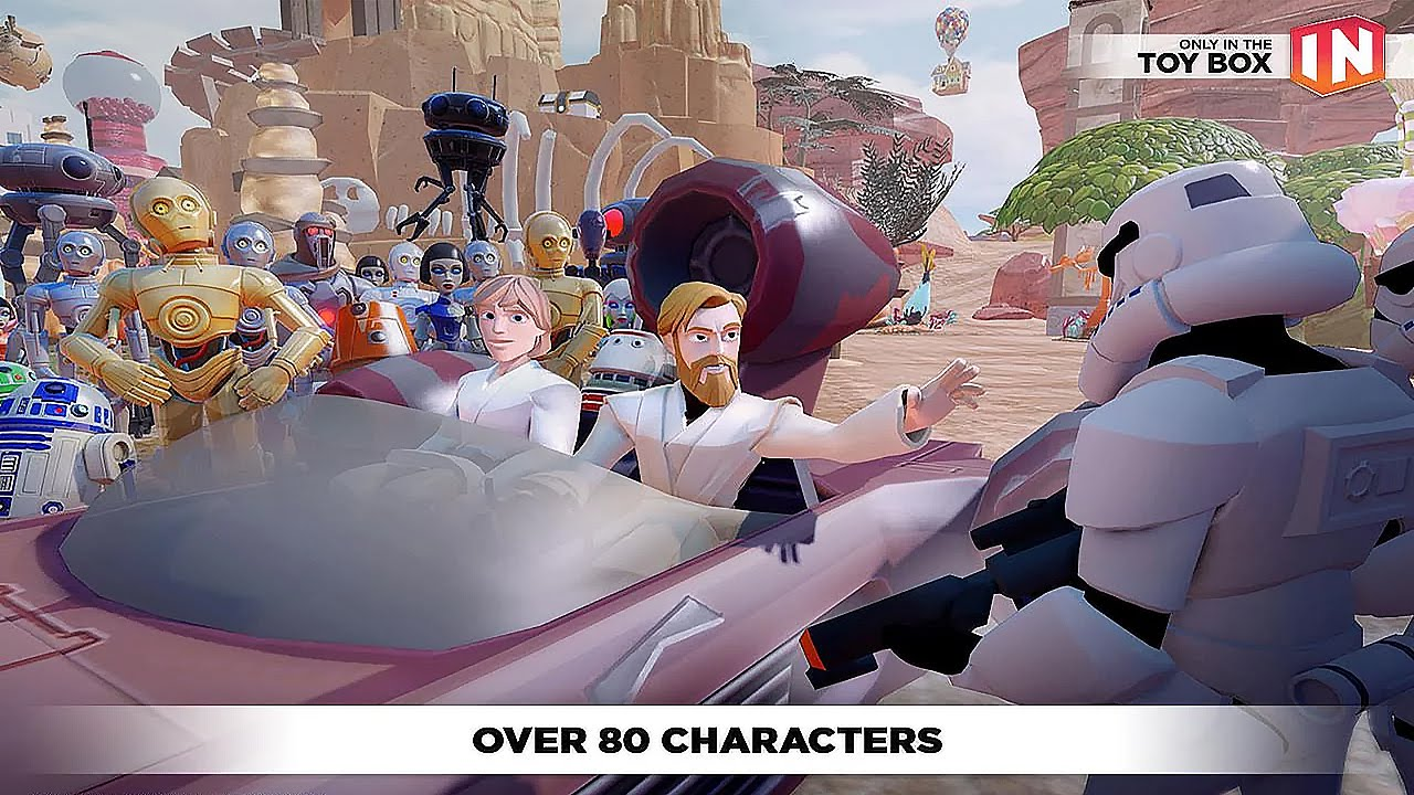 Disney Infinity Toy Box 3 0 Gameplay Android Youtube