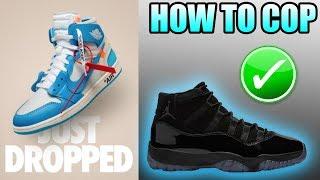 OFF WHITE UNC Jordan 1 UPDATE !   How To Get The PROM NIGHT Jordan 11 ! Cap and Gown Jordan 11