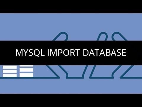 MySQL Import Database |SQL Recovery Model |MySQl Import Command |SQL Tutorial For Beginners |Edureka