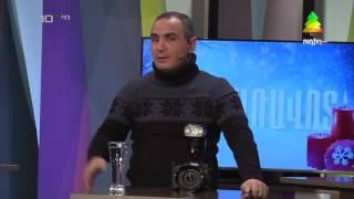 ATV հեռուստաընկերության ուղիղ եթերի հյուրն է ֆոտոլրագրող Գագիկ Շամշյանը