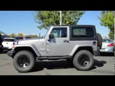 Jeep Wrangler Sahara For Sale >> 2013 JEEP WRANGLER SAHARA BILLET SILVER METALLIC - YouTube