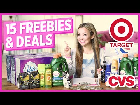 ★ 15 FREEBIES & Deals – Target, CVS Couponing Haul (Week 3/31-4/6)