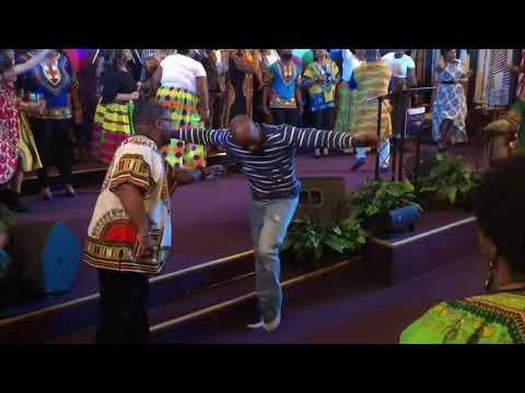 Crazy Praise Break at The Harvest Tabernacle Church!!! 2/25/28