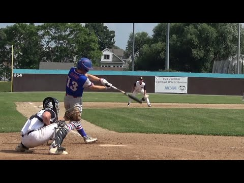 BATTING HIGHLIGHTS AIDAN CLATUR CRUSADERS BASEBALL CLUB AND WARWICK HIGH SCHOOL