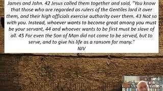 Lesson 68  Mark 10:41-45  September 14, 2020