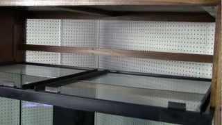 Great Lakes Aquariums 160 Xwide Furniture Grade Poplar Wood Aquarium Package