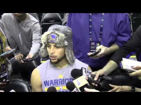 """Steph Curry on Paul George's Return: """"It's Great to See"""""""