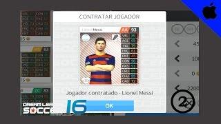 COMPRANDO O MESSI!! - DREAM LEAGUE SOCCER 16 - GAMEPLAY #2 [HD]