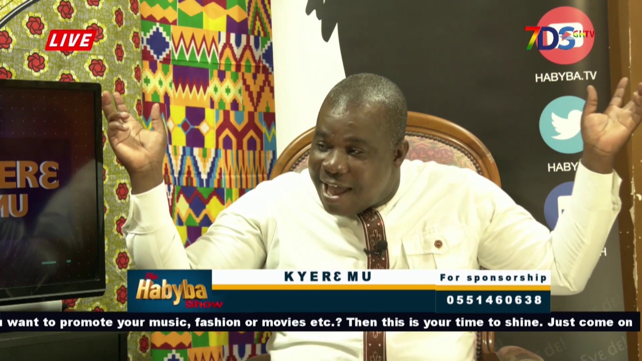 KYIREMU - Fun Time With PAA SOLO on The HABYBA SHOW - YouTube