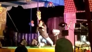 Santhali  stage  show ...Singer.. Rathin Kisku..Asansol...w.B..