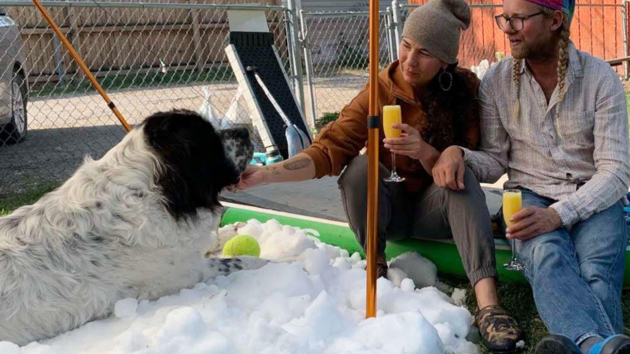 余命わずかな愛犬に最後のプレゼント。大好きだった雪を楽しむ犬の姿に涙が溢れる【感動 動物】